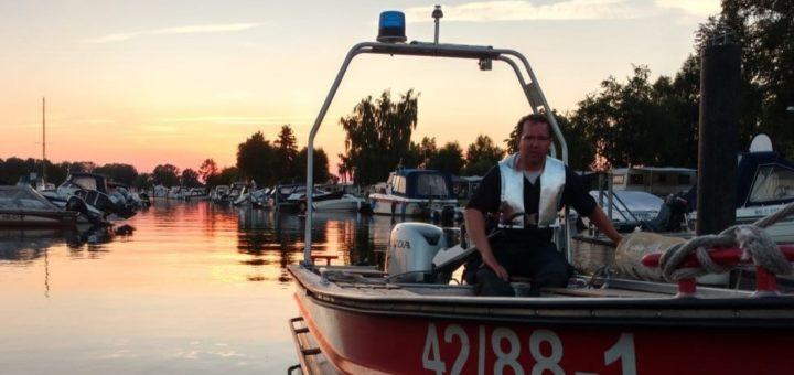 Das Rettungsboot der Freiwilligen Feuerwehr Neustadt konnte dank der Hilfe des Fördervereins finanziert werden.Foto: pv
