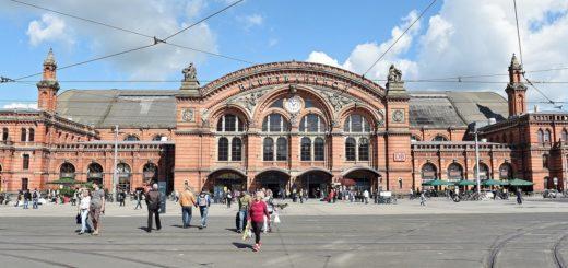 Der Hauptbahnhof Bremen zählt zu den schönste Bahnhöfen der Republik.Foto: Schlie