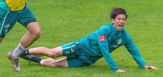 Muss sich oft Kritik gefallen lassen: Werders japanischer Nationalspieler Yuya Osako. Foto: Nordphoto