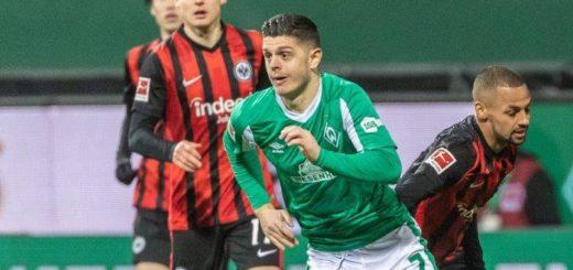 Spielte gegen Frankfurt auf wie zu seinen besten Zeiten: Milot Rashica. Nordphoto