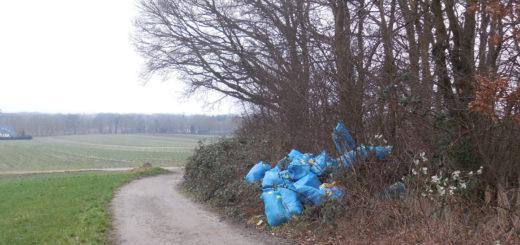 Müllsäcke mit Dämmschaum