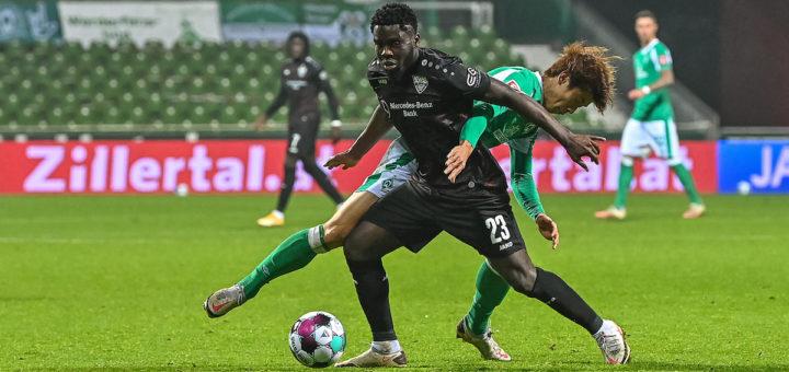 In der Partie gegen den VfB Stuttgart könnten die Grün-Weißen einen vorentscheidenden Schritt in Richtung Klassenerhalt machen. Foto: Nordphoto