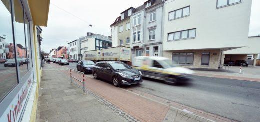 Zwei Kindergärten liegen in direkter Nähe zueinander, außerdem gibt es in dem Bereich der Woltmershauser Straße noch eine Einrichtung der Werkstatt Bremen. Doch der Antrag auf Tempo 30 wurde abgelehnt. Kein Einzelfall.Foto: Schlie