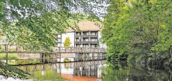 Im traditionsreichen Mühl Vital Resort in Bad Lauterberg – malerisch im Grünen gelegen – kann man wunderschön entspannen. Fotos: Mühl Vital Resort