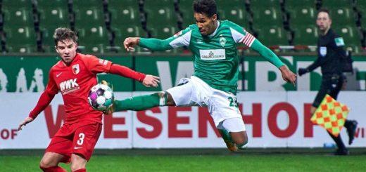 Theodor Gebre Selassie und die Grün-Weißen müssten am vorletzten Spieltag gegen Augsburg abliefern. Foto: Nordphoto