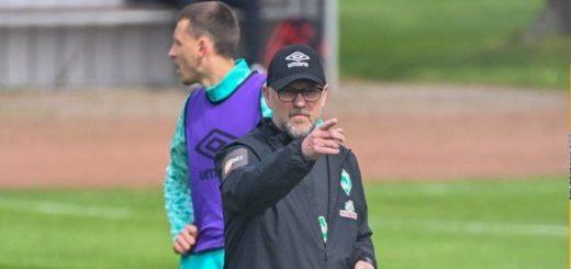 Will sehen, dass sich seine Spieler wehren: Werders neuer Trainer Thomas Schaaf. Foto: Nordphoto