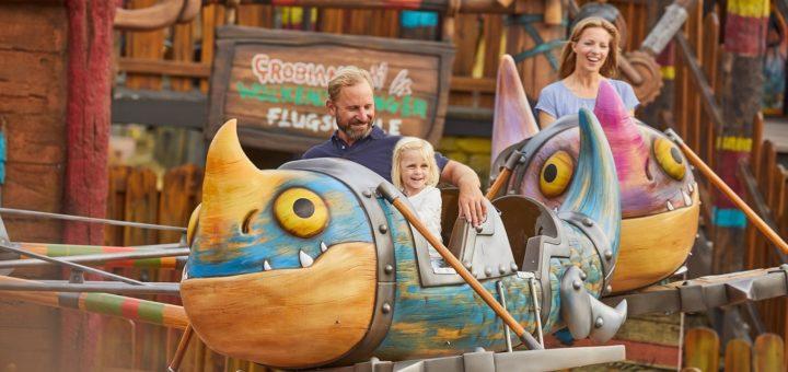 Familien können den Feiertag morgen zu einem gemeinsamen Ausflug in einem Freizeitpark oder Zoo nutzen. Foto: Heide Park Resort