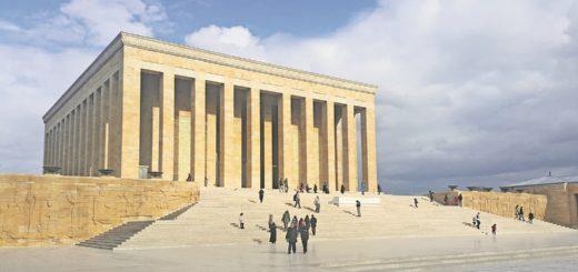 Das Atatürk-Mausoleum: Hier befindet sich die letzte Ruhestätte des Gründers der Türkischen Republik Mustafa Kemal Atatürk.Foto: deniz01eda / Pixabay