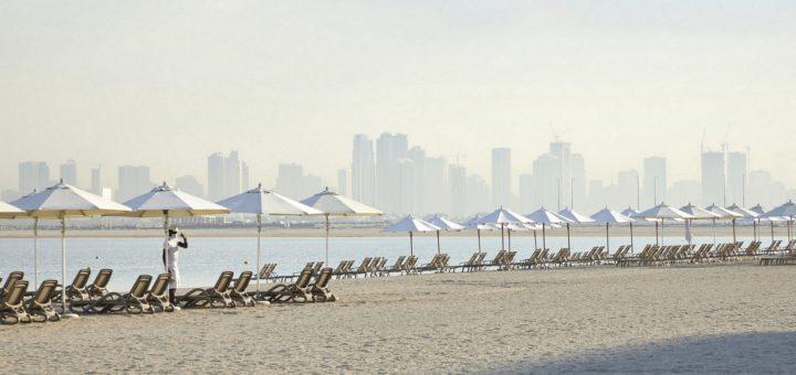 Badeurlaub in Dubai: Immer mehr Deutsche stillen im Winter ihre Sehnsucht nach Sonne und Meer im Emirat am Golf. Foto: Riu
