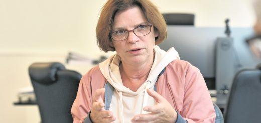 Senatorin Kristina Vogt: 400 weitere Plätze in der Ausbildungsgesellschaft.Foto: Schlie