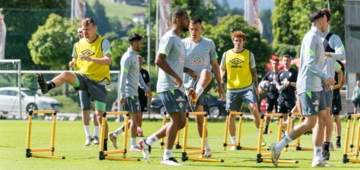Nach den kleinen Hürden auf dem Trainingsplatz warten jetzt zwei starke Gegner in den Testspielen. Foto: Nordphoto