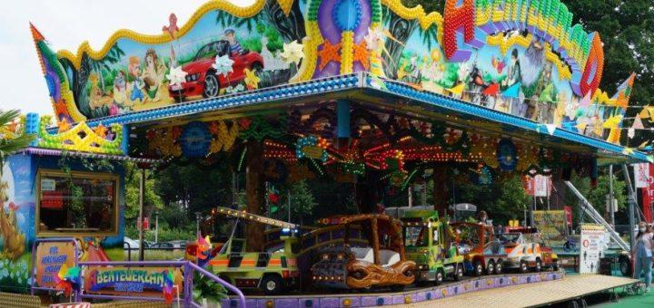 Alles ganz schön bunt: Der Sommer-Ferien-Spaß am Weserpark. Foto: pv