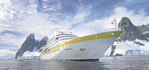 Die MS Hamburg nimmt Kurs auf die Antarktis. An Bord sind nur Geimpfte.Foto: Plantours Kreuzfahrten
